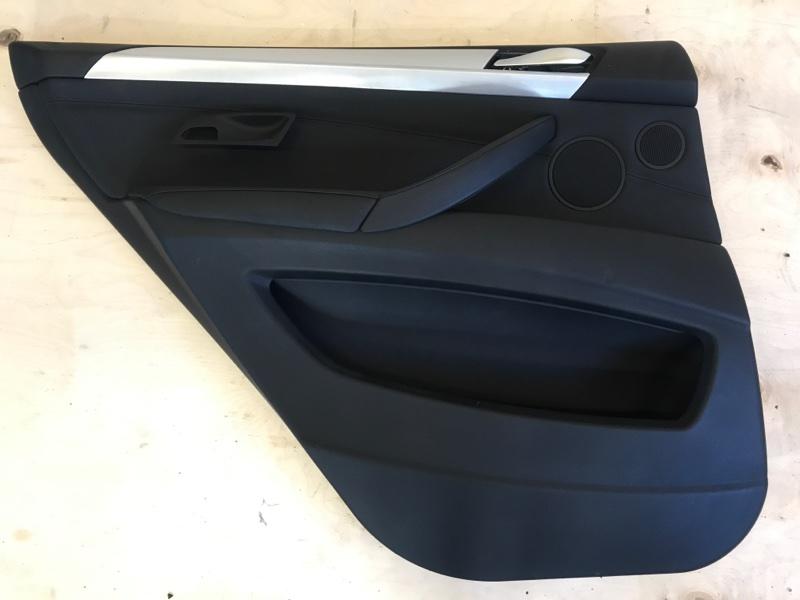 Обшивка двери Bmw X5 E70 N52B30 2009 задняя левая
