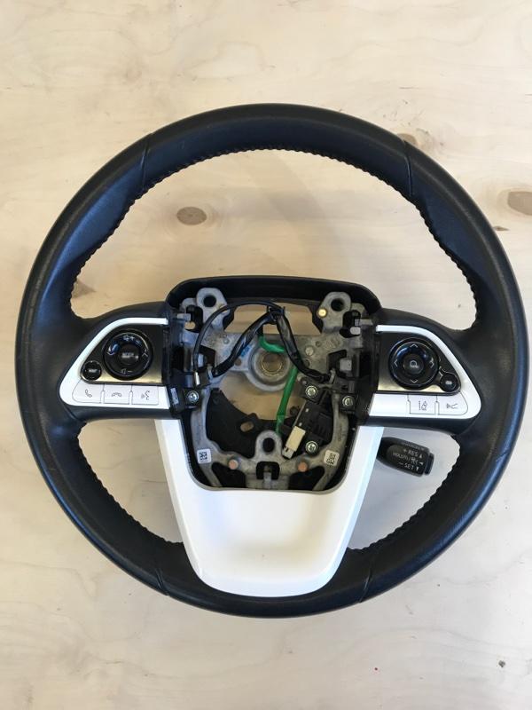 Руль Toyota Prius ZVW51 2ZR-FXE