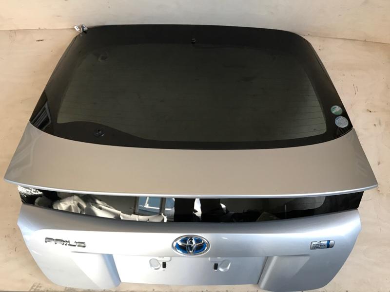 Крышка багажника Toyota Prius ZVW51 2ZR-FXE 2016