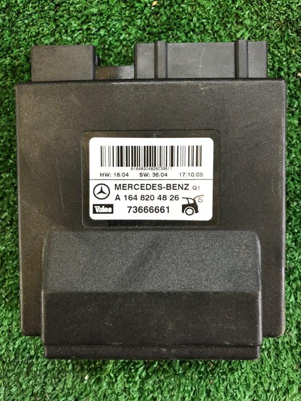 Блок управления крышкой багажника Mercedes Benz 164.186 Ml350 4Matic W164.186 M272E35 2005