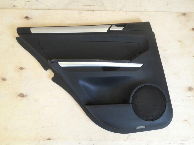 Обшивка двери Mercedes Benz 164.186 Ml350 4Matic W164.186 M272E35 2005 задняя левая