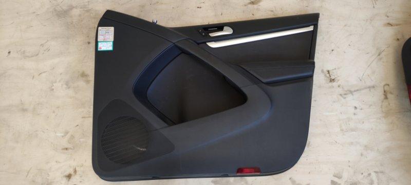 Обшивка двери Volkswagen Tiguan 2012 передняя правая