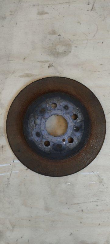 Тормозной диск Toyota Prius ZVW51 2ZR-FXE задний