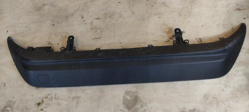 Накладка на бампер Toyota Prius ZVW51 2ZR-FXE задняя