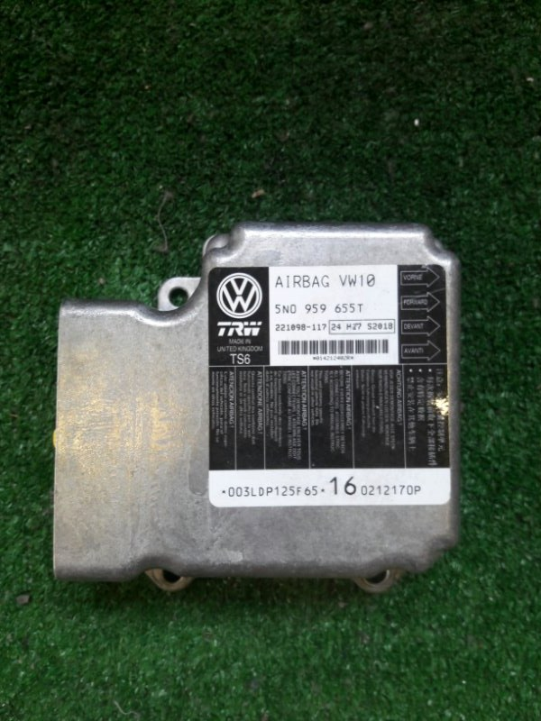 Блок управления airbag Volkswagen Tiguan TIG CCZD 2012