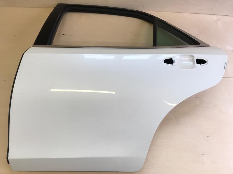 Дверь Toyota Crown AWS210 2ARFSE 2013 задняя левая