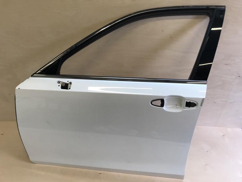 Дверь Toyota Crown AWS210 2ARFSE 2013 передняя левая