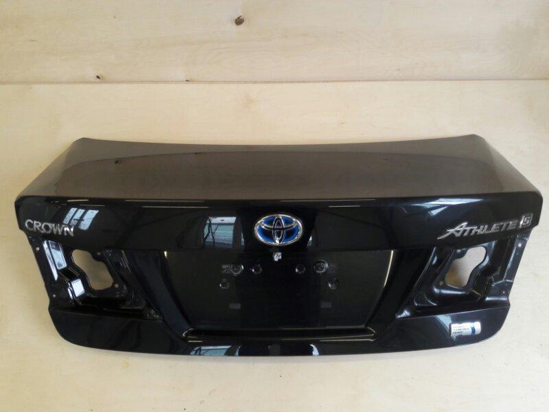 Крышка багажника Toyota Crown AWS210 2ARFSE 2016
