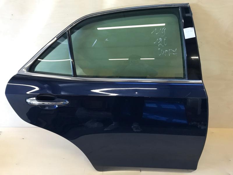 Дверь Toyota Crown AWS210 2ARFSE 2016 задняя правая
