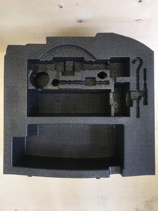 Обшивка багажника Honda Vezel RU1 L15B 2014