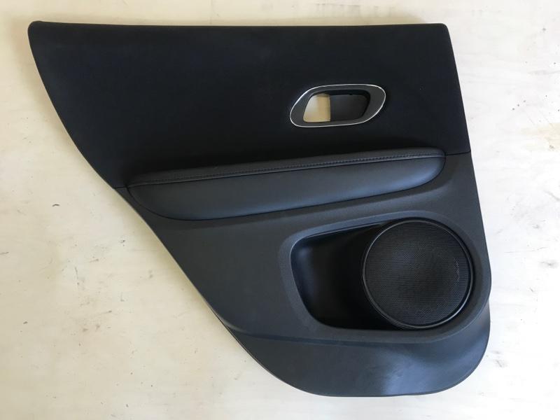 Обшивка двери Honda Vezel RU1 L15B 2014 задняя левая