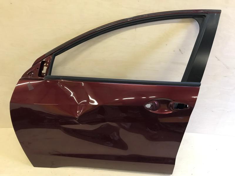 Дверь Honda Vezel RU1 L15B 2014 передняя левая
