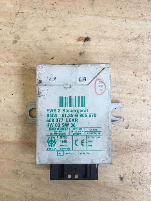 Блок управления , иммобилайзер Bmw X5 E53 M62B44 2003