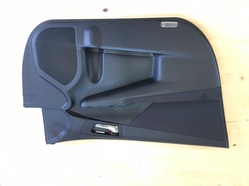 Обшивка двери Toyota Camry AVV50 2AR-FXE 2012 передняя левая