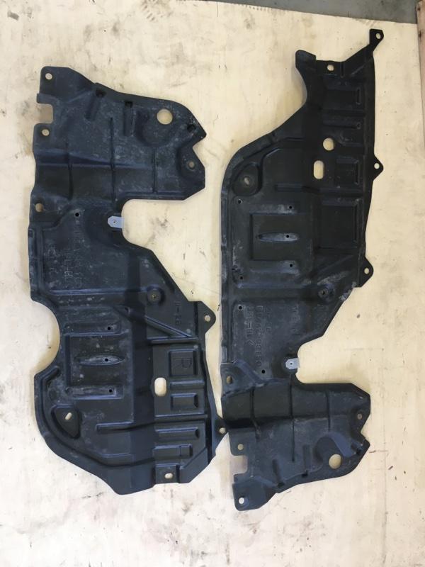Защита двигателя Toyota Camry AVV50 2AR-FXE 2012