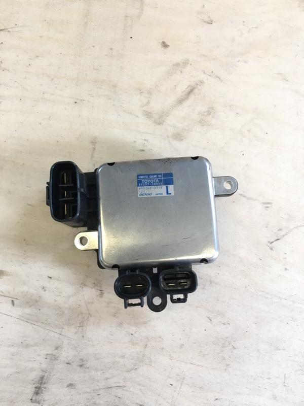 Блок управления вентилятором радиатора Toyota Camry AVV50 2ARFXE 2500CC 16-VALVE DOHC EFI 2011