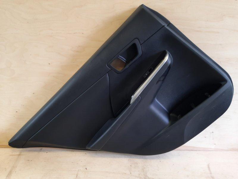 Обшивка двери Toyota Camry AVV50 2ARFXE 2500CC 16-VALVE DOHC EFI 2011 задняя левая