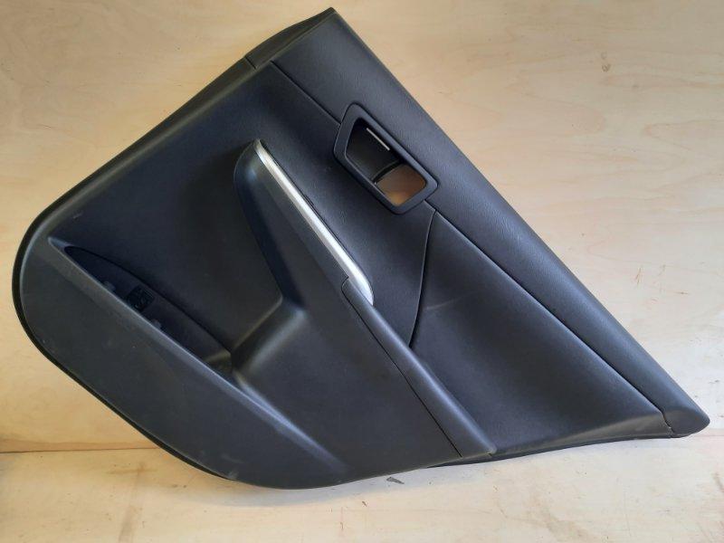 Обшивка двери Toyota Camry AVV50 2ARFXE 2500CC 16-VALVE DOHC EFI 2011 задняя правая