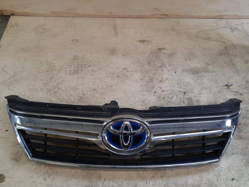 Решетка радиатора Toyota Camry AVV50 2ARFXE 2500CC 16-VALVE DOHC EFI 2011