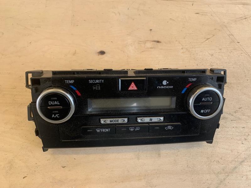 Блок управления климат-контролем Toyota Camry AVV50 2ARFXE 2500CC 16-VALVE DOHC EFI 2011