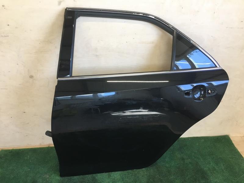 Дверь Toyota Camry AVV50 2AR-FXE 2012 задняя левая