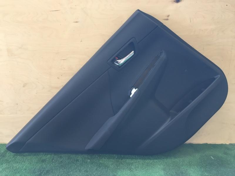 Обшивка двери Toyota Camry AVV50 2ARFXE 2500CC 16-VALVE DOHC EFI 2013 задняя левая