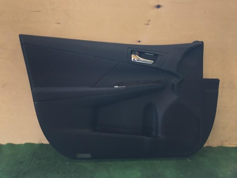 Обшивка двери Toyota Camry AVV50 2ARFXE 2500CC 16-VALVE DOHC EFI 2013 передняя левая