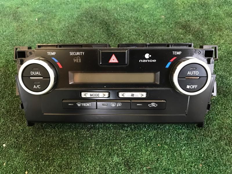 Блок управления климат-контролем Toyota Camry AVV50 2ARFXE 2500CC 16-VALVE DOHC EFI 2013