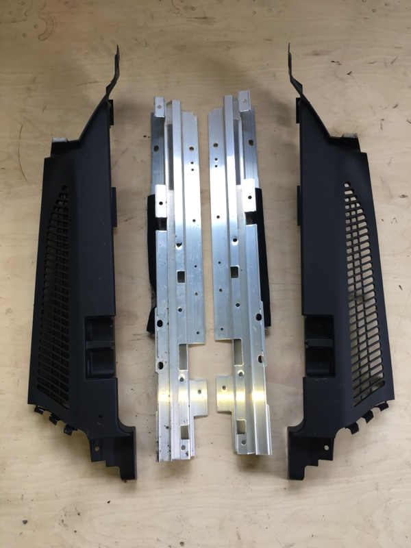 Полка багажника Bmw X5 E53 N62B44 2006