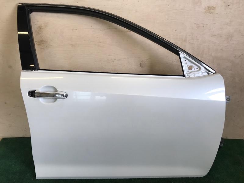Дверь Toyota Camry AVV50 2ARFXE 2500CC 16-VALVE DOHC EFI 2013 передняя правая