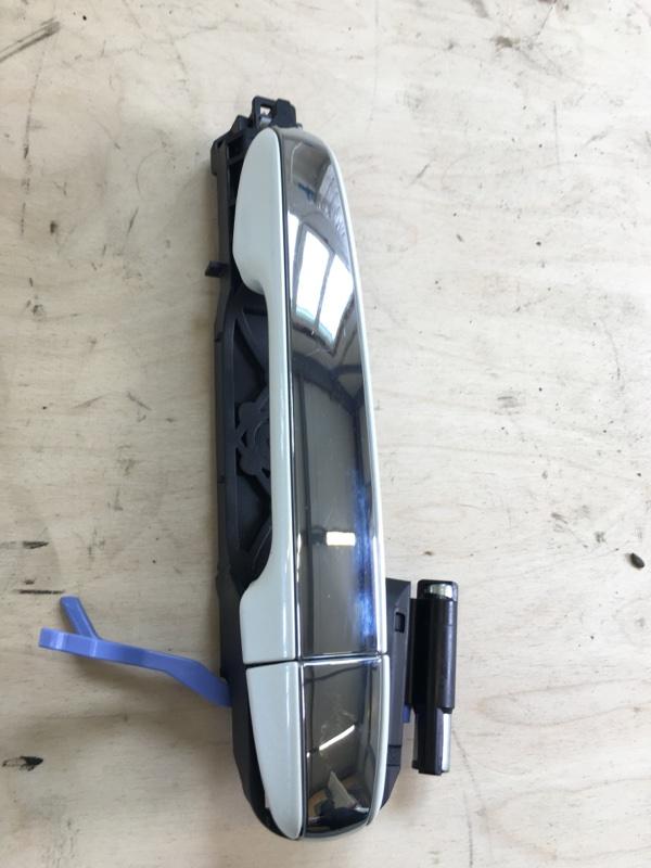 Ручка двери внешняя Toyota Camry AVV50 2ARFXE 2500CC 16-VALVE DOHC EFI 2013 задняя левая