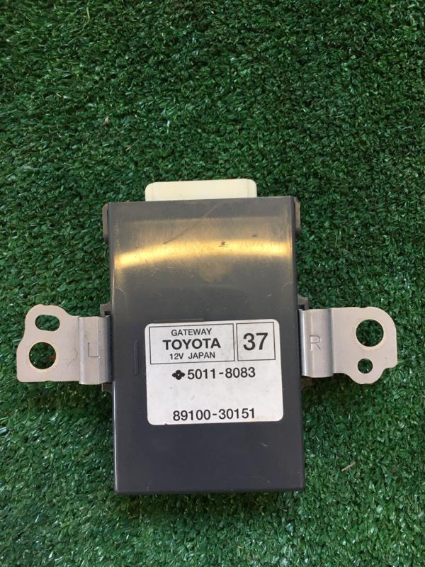 Блок управления комфортом Toyota Crown Atlet AWS210 2ARFSE 2013