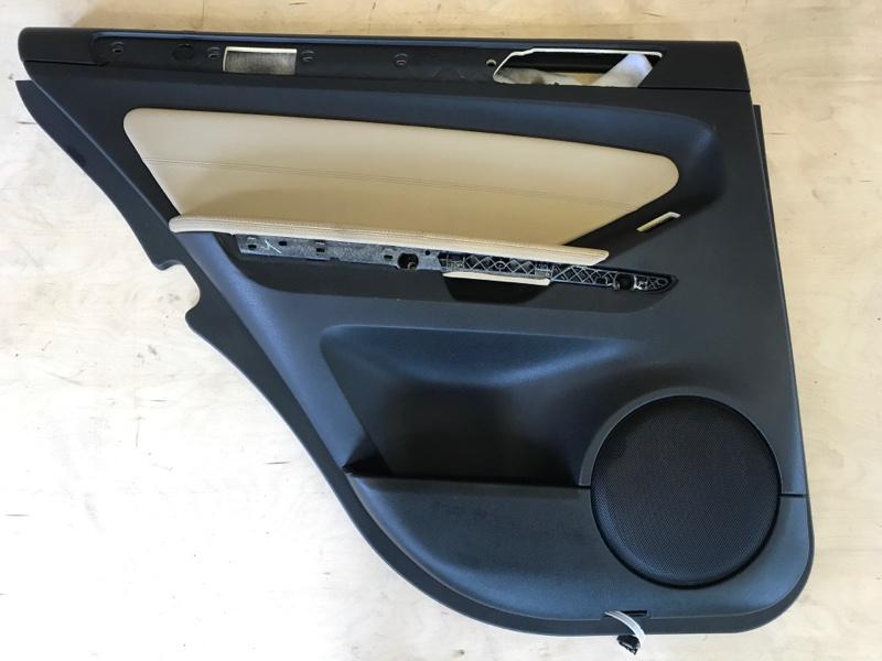 Обшивка двери Mercedes Benz Gl-Class X164 M273E46 2008 задняя левая