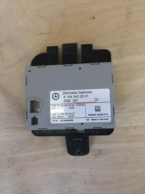 Блок управления zgs Mercedes Benz 164.186 Ml350 4Matic W164 M272E35 2008