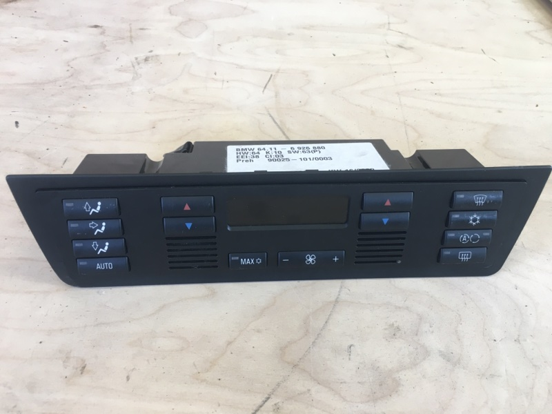 Блок управления климат-контролем Bmw X5 E53 M54B30 2003