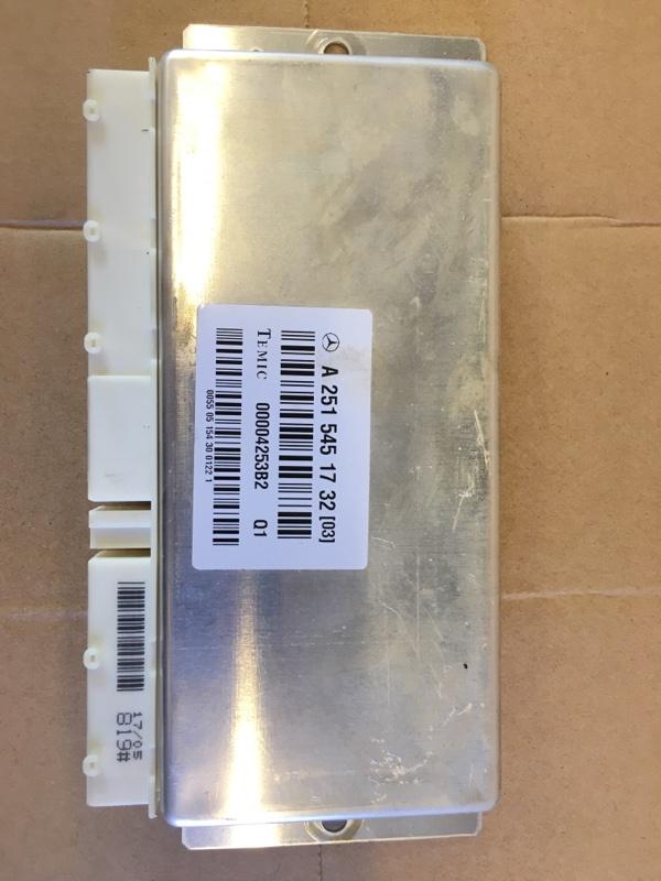 Блок управления подвеской Mercedes Benz Mercedes Benz M Class Ml500 W164.175 113.964 2005