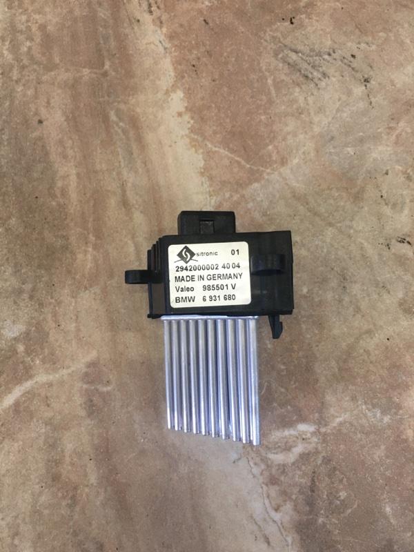 Реостат печки Bmw X5 E53 M54B30 2006