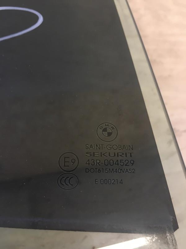 Стекло двери Bmw X5 E53 M54B30 2006 заднее правое