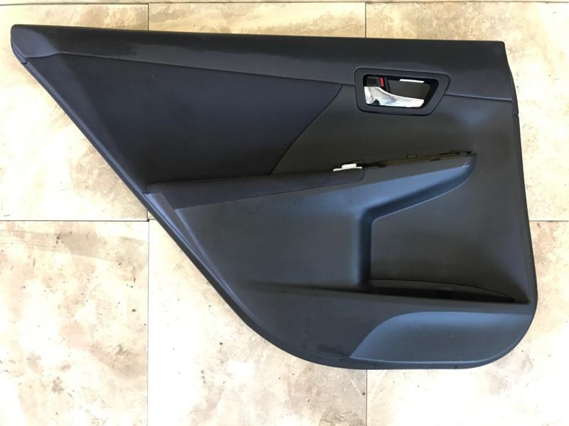 Обшивка двери Toyota Camry AVV50 2AR-FXE 2012 задняя левая
