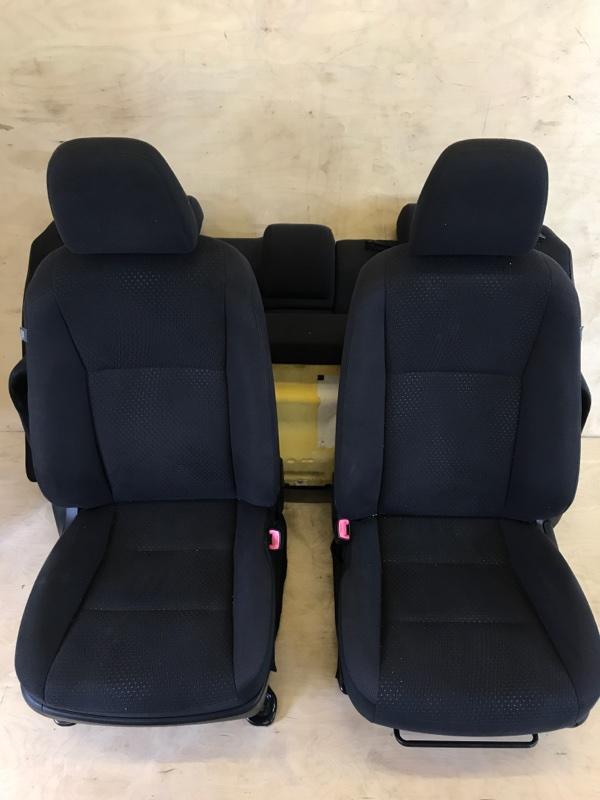 Сидения комплект Toyota Camry AVV50 2AR-FXE 2012