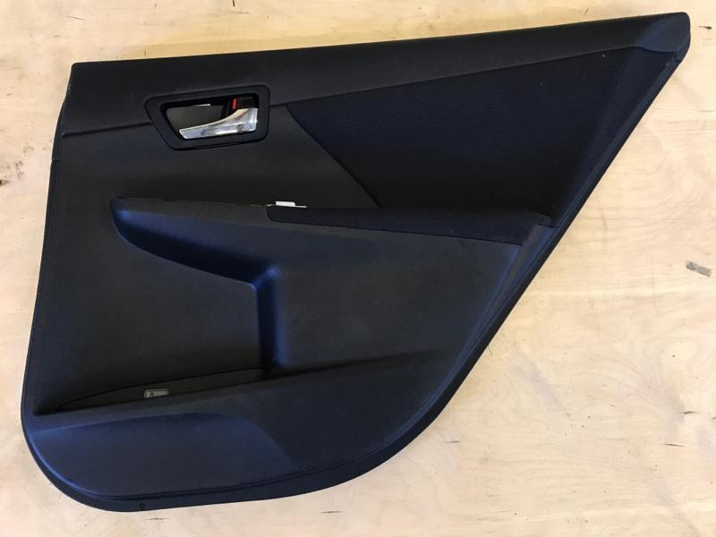 Обшивка двери Toyota Camry AVV50 2AR-FXE 2012 задняя правая