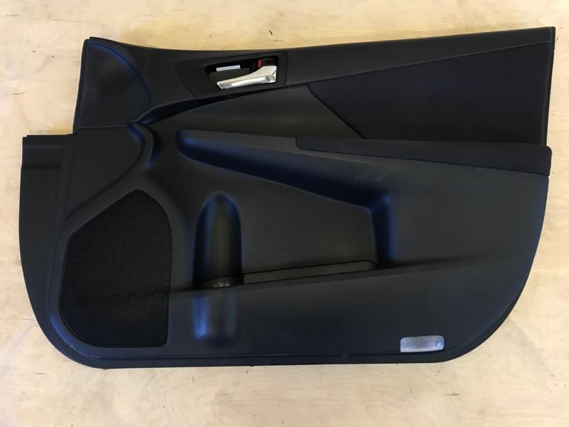 Обшивка двери Toyota Camry AVV50 2AR-FXE 2012 передняя правая