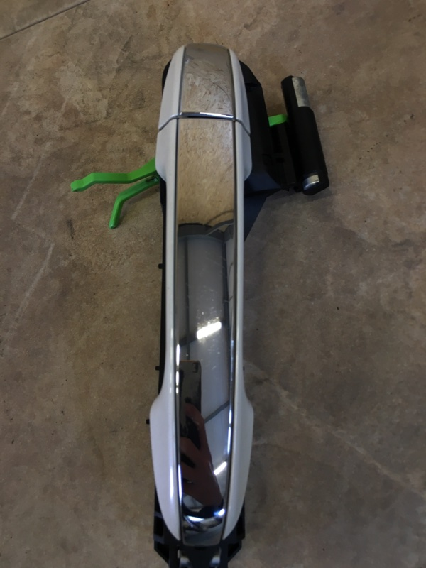 Ручка двери внешняя Toyota Camry AVV50 2AR-FXE 2012 задняя правая