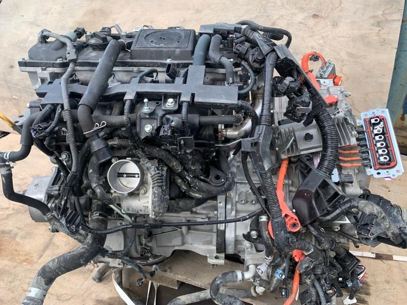 Двигатель Toyota Prius Phv ZVW52 2ZR-FXE 2017