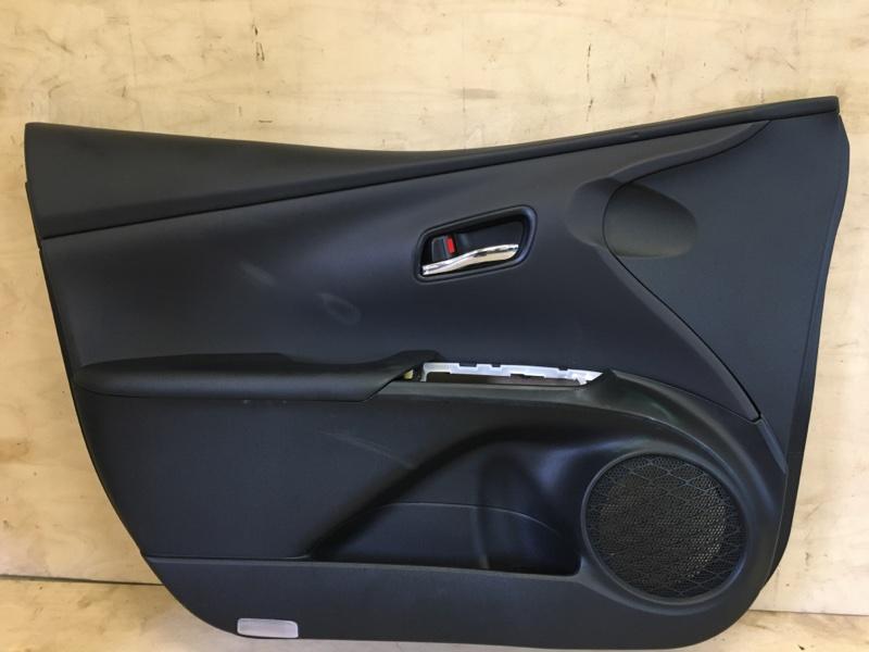 Обшивка двери Toyota Prius ZVW55 2ZR-1NM-1MM 2019 передняя левая