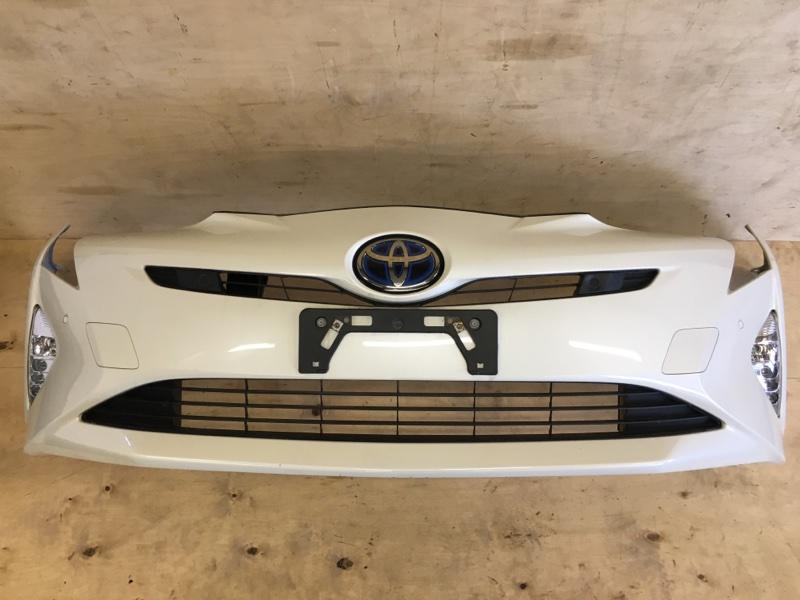 Бампер Toyota Prius ZVW51 2ZR-FXE 2018 передний