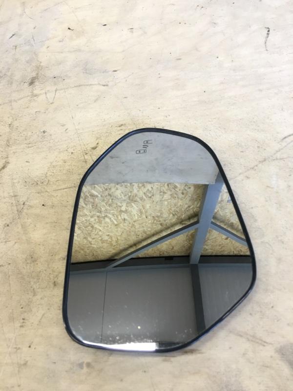 Полотно зеркала Toyota Prius ZVW51 2ZR-FXE 2018 правое