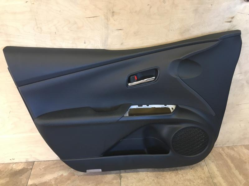 Обшивка двери Toyota Prius ZVW51 2ZR-FXE 2018 передняя левая