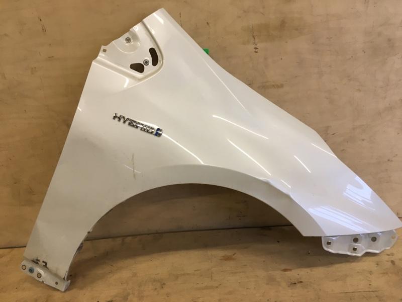 Крыло Toyota Prius ZVW51 2ZR-FXE 2018 переднее правое