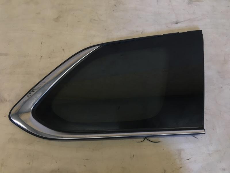 Стекло собачника Mitsubishi Outlander Phev 4B11-S61-Y61 2014 заднее правое